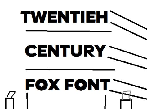 20th century fox font 8d by logofanful on deviantart