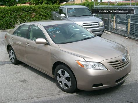Toyota 2007 Camry by 2007 Toyota Camry Le Sedan 4 Door 2 4l