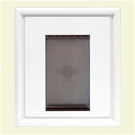 pet doors home depot jeld wen primed white universal insert pet door panel