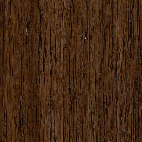 home legend brushed strand woven gunstock 3 8 in thick x