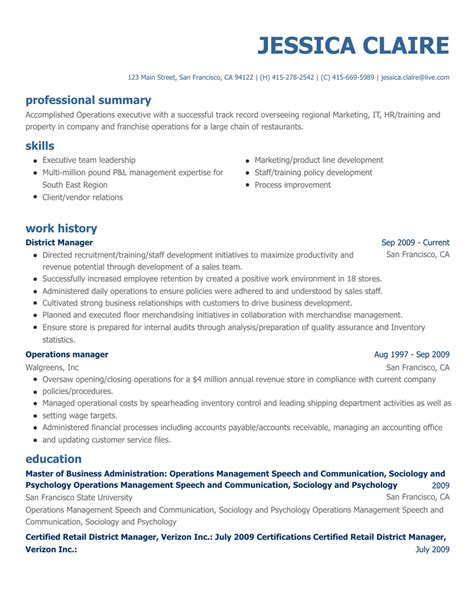Resume Builders by Free Resume Builder Create A Professional Resume