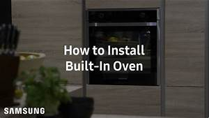 Samsung Built-in Oven   Installation Guide