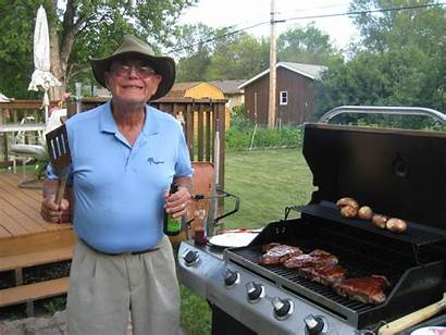 Dad Grilling American Auckland