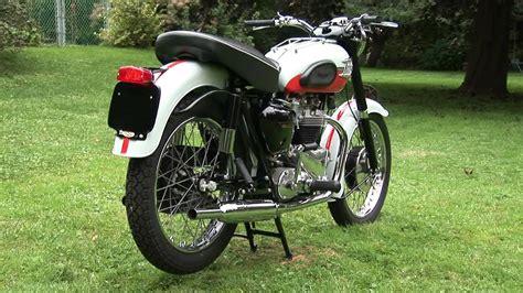 Triumph Bonneville Motorcycle Vintage 1959