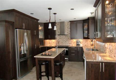 armoire de cuisine porte shaker style contemporain en