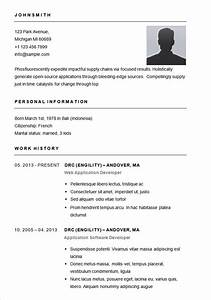 Basic resume template 70 free samples examples format for Free simple resume templates