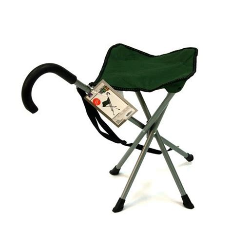 folding cane chair walking stick with stool in the uae