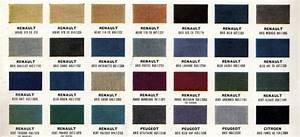 renault fregate la restauration ce blog est destine a With awesome nuancier de couleur peinture 8 codification des teintes 4cv