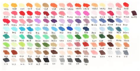 copic color chart free coloring pages of copic color chart