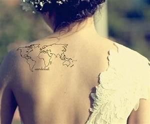 The Coolest World Map Tattoos Ever