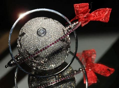 the world s most expensive christmas ornament bit rebels