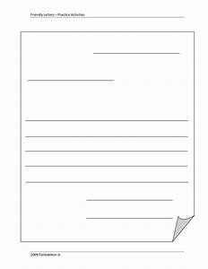 8 best images of printable blank letter template letter With letter writing template