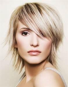 Coupe Courte Visage Ovale : coupe de cheveux visage ovale ~ Melissatoandfro.com Idées de Décoration