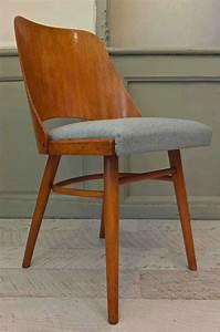 Chaise Bois Vintage : slavia vintage mobilier vintage chaise ton en bois courb arco 2 ~ Teatrodelosmanantiales.com Idées de Décoration