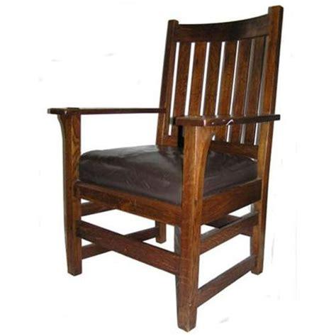 pdf mission arm chair plans free