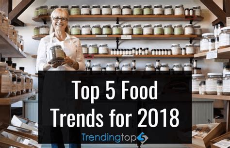 2018 Trends Something Borrowed And Plenty That Is New: Top 5 Latest Food Trends 2018