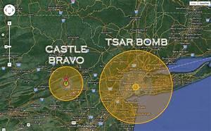 Nuclear Bomb Comparison – USA vs Russia | weirdworld