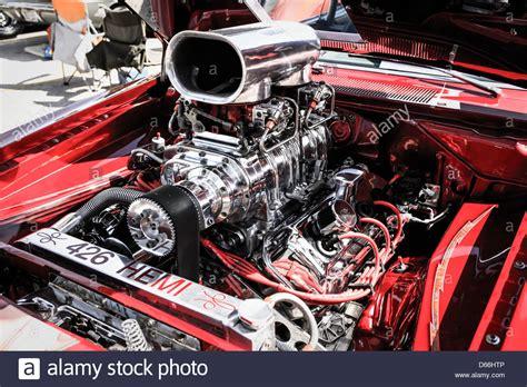 426 Hemi Engine Ram Airflow Hot Rod American Car Stock
