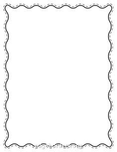 borders  word clipart collection
