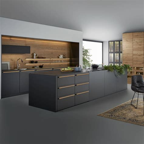 china modern style black color high gloss plywood kitchen