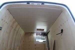 Comment Recouvrir Du Lambris : pose du lambris au plafond poimobile fourgon am nag ~ Melissatoandfro.com Idées de Décoration