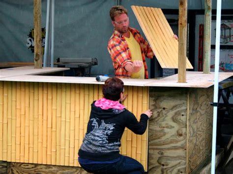 cheap patio bar ideas how to build a tiki bar how tos diy