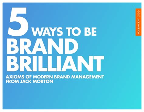 5 Tips For Brand Building And Brand Management