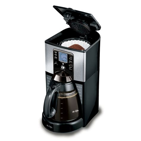 The carafe palate is made with nonstick material to keep your coffee warm even after 2 you will get a black and decker 12 cup programmable coffee maker manual to operate it effortlessly. Mr. Coffee® Performance Brew 12-Cup Programmable Coffee Maker Stainless Steel, FTX41-RB