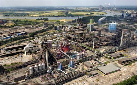 Janina R Thyssenkrupp Steel Europe In Duisburg Thyssenkrupp
