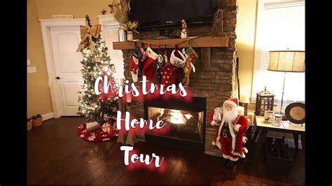 Home Decor Youtube Channels : Christmas Home Decor Tour 2016