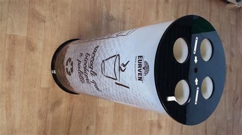 raccolta differenziata bicchieri di plastica impilatore di bicchieri di caff 232 e palette rinnova energia