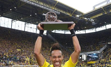 Gabon's Aubameyang becomes 2nd African player ever to win ...
