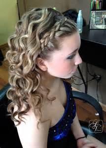 french braid quot headband quot medium curls hairstyles