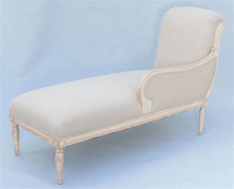 chaise louis 16 louis xvi style recamier chaise at 1stdibs