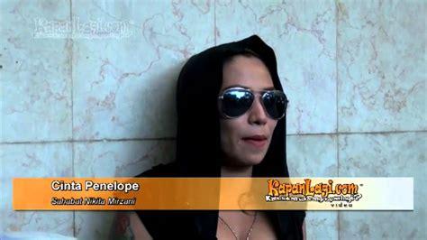 Dibesuk Cinta Penelope Nikita Mirzani Menangis Youtube