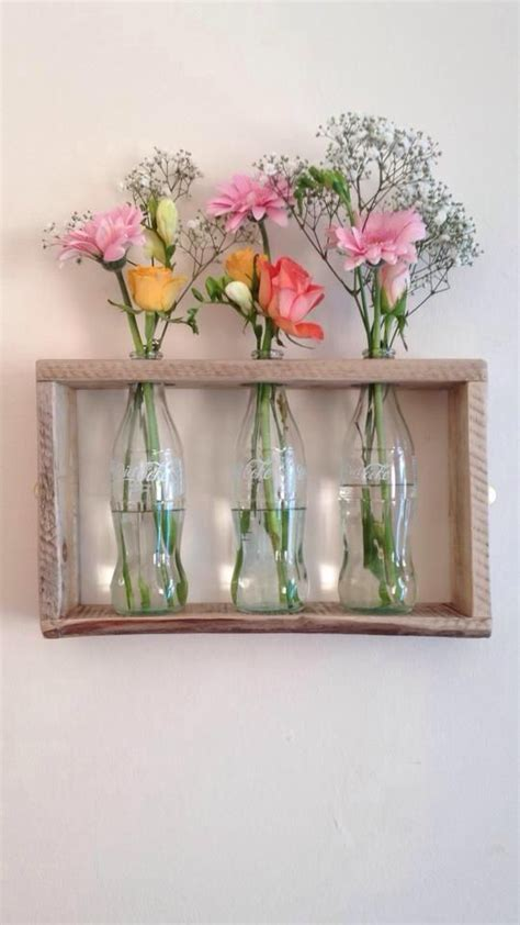 simple  elegant wall mount vase