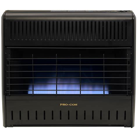 Ventless Dual Fuel Blue Flame Garage Heater  30,000 Btu