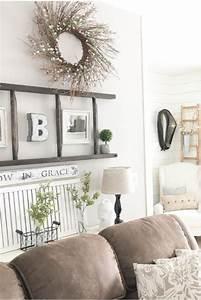 {Farmhouse Living Rooms} • Modern Farmhouse Living Room