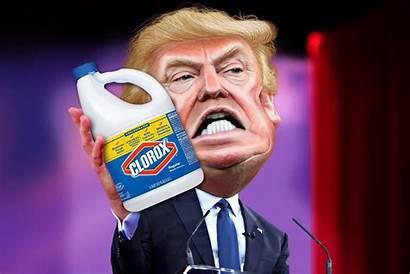 Bleach Trump Coronavirus Inject Disinfectant Vaccine Donald