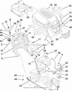 Toro 13ap60rp744  Lx500 Lawn Tractor  2006  Sn 1a096b50000