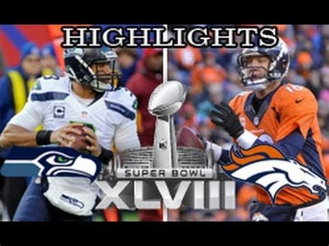seattle seahawks  denver broncos  super bowl