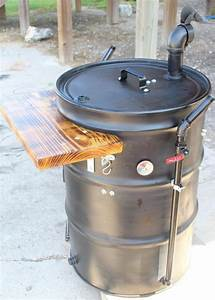pin on barrel grill