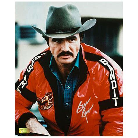 burt reynolds autographed  smokey   bandit