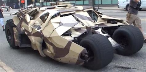 Batmobile Spotted In Pittsburgh While Filming