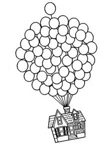 Disney Movie Up House Coloring Page
