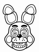 Fnaf Pages Colouring Puppet Coloring Trending Days Last sketch template