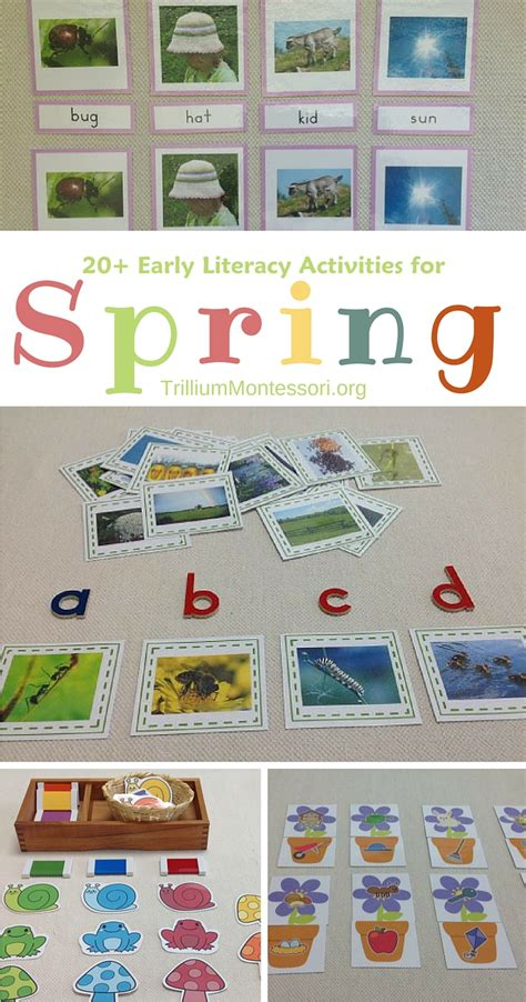 preschool literacy activities literacy activities for preschoolers trillium 837