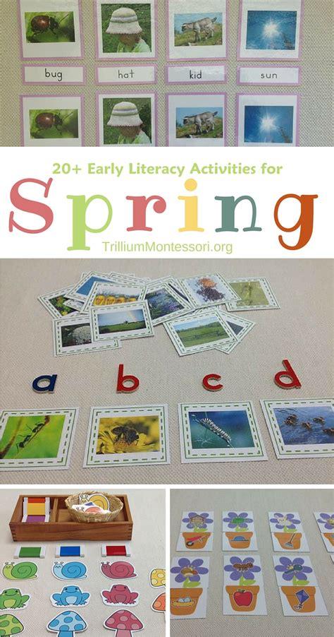 literacy activities for preschoolers trillium 531 | Early literacy activities for spring