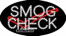 Smog Checks LED Sign only $244 99 Signs S