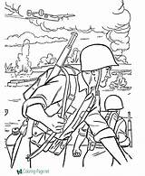 Coloring Military Pages sketch template